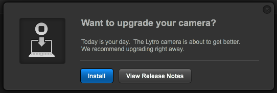 Lytro Camera Firmware Upgrade 1.0.2 brings Windows Auto-Install, improved Creative Mode and more