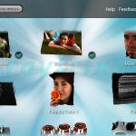 Raytrix Android App: Übersicht der LichtFeld Beispiel-Bilder