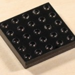 A bug-eye-like camera array such as this one may bring LightField photography to smartphones (photo: Pelican Imaging)