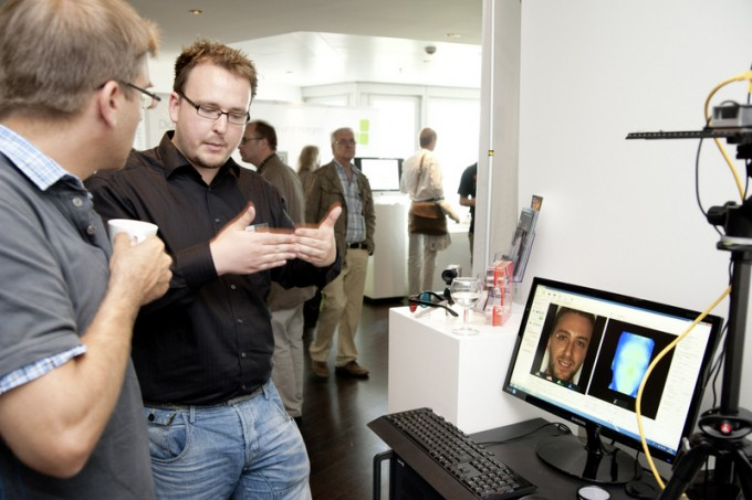 Photokina: Raytrix demoes 3D LightField Live Processing (Photo: PREVIEW online)
