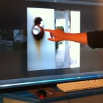 Video: Lytro Interactive Refocus on a 55 inch Touchscreen