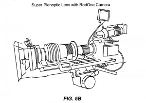 Super Plenoptic Lens with a RedOne Camera - One of the examples of relay lenses having specific arrangements of optical elements according to certain embodiments  (Pixar patent application 20110169994)