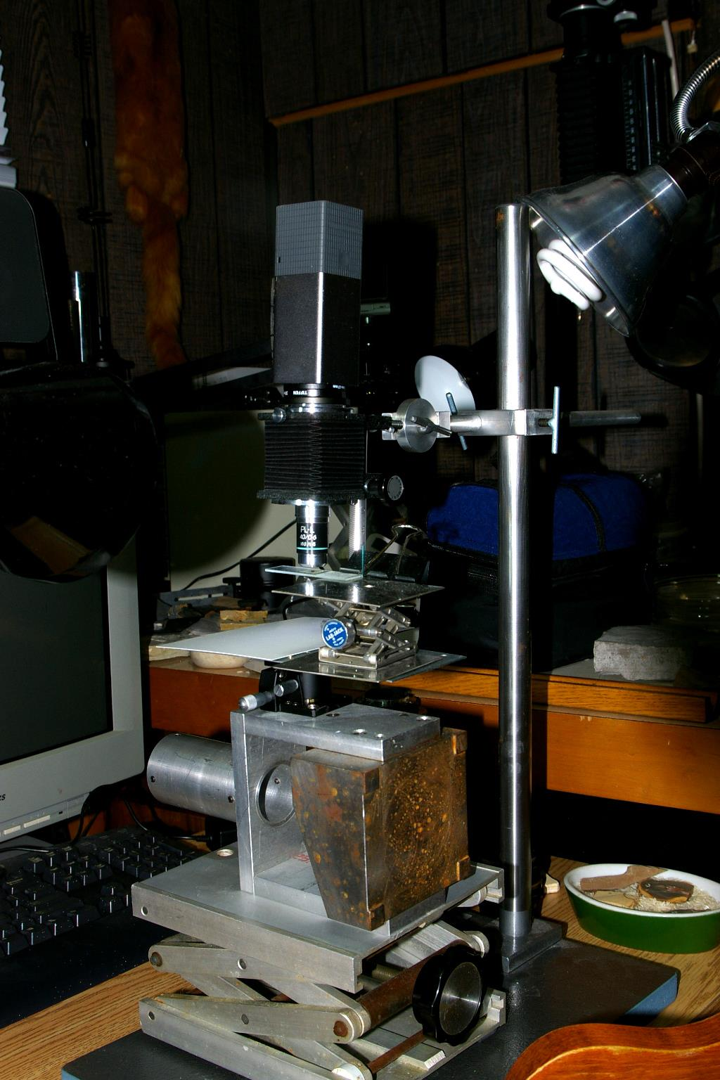 Prototype Rev2 LightField Microscope with Lytro Image Engine with 40X Microscope Objective (photo: pleecan)