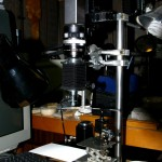 Prototype Rev2 (2nd Gen.) LightField Microscope with Lytro Image Engine with 40X Microscope Objective (photo: Peter Lee)