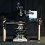 The Stanford LightField Microscope Prototype (Photo: Levoy et al. 2006)