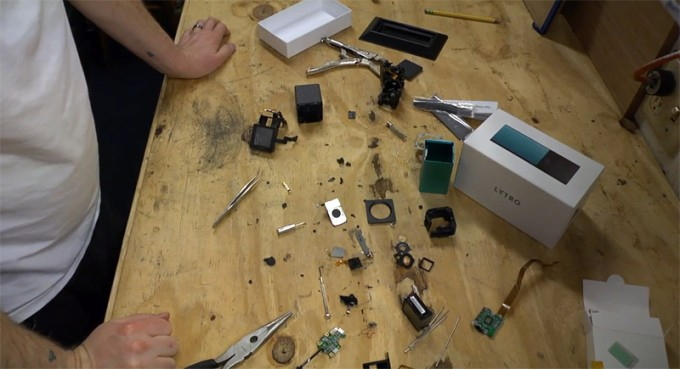 Video: How to Completely Take Apart a Lytro LightField Camera Completely