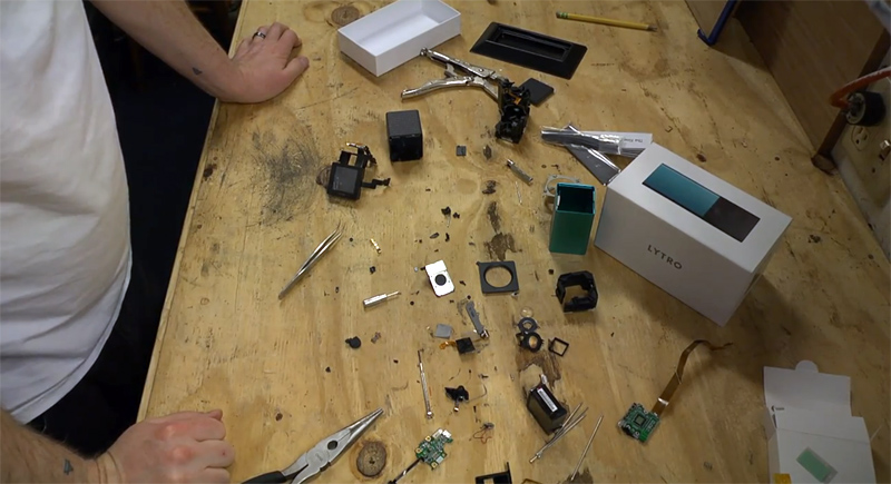 Video: How to Take Apart a Lytro LightField Camera Completely