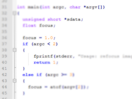 Refocus: Linux Tool to Process Raw Lytro Images