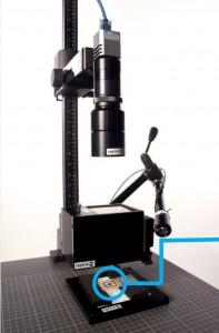 Raytrix R5 f/5.66 LichtFeld Kamera mit telezentrischem Objektiv (Foto: Raytrix GmbH)