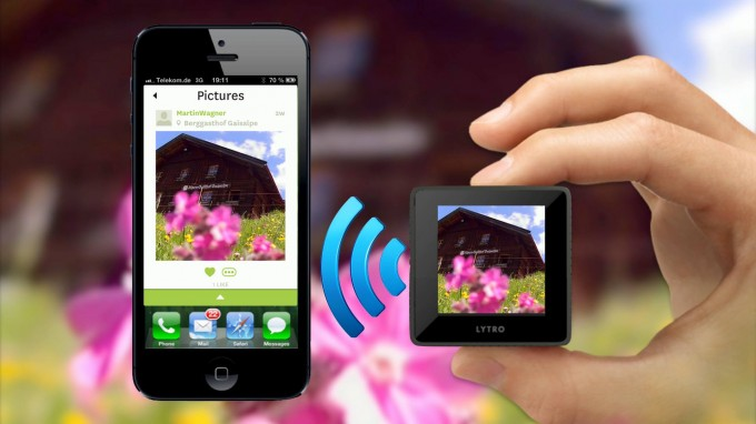 Lytro Mobile: iPhone App for WiFi Transfer from Camera, On-The-Go Sharing and more (Picture: Martin Wagner)