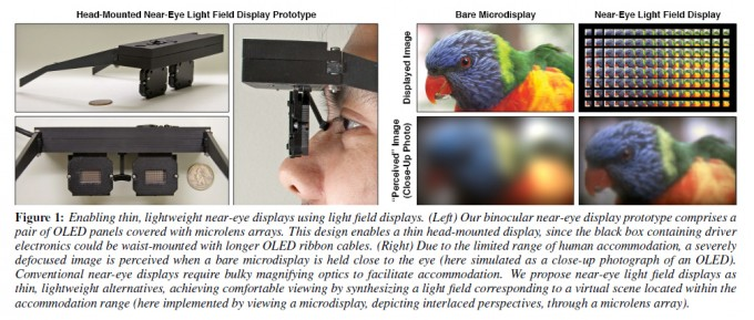 Refocus your Eyes: Nvidia presents Near-Eye Light Field Display Prototype (picture: Lanman & Luebke 2013)