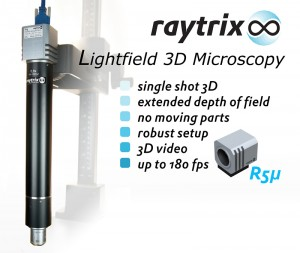 Lightfield 3D Microscopy: Raytrix Showcases the R5µ (picture: Raytrix)
