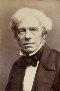 Michael Faraday suggested that light should be considered to manifest a field, similarly to magnetic fields.