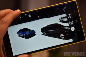 Nokia Refocus: Refocus App for Lumia Phones with Windows Phone 8 (photo: The Verge)