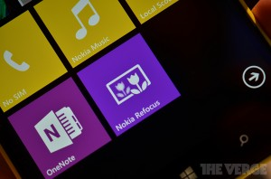 Nokia Refocus: Refocus App for Lumia Phones with Windows Phone 8 (photo: The Verge)