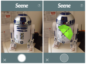 Seene: iPhone App creates 3D Models for Perspective Shift Effect (Picture: MakeUseOf)