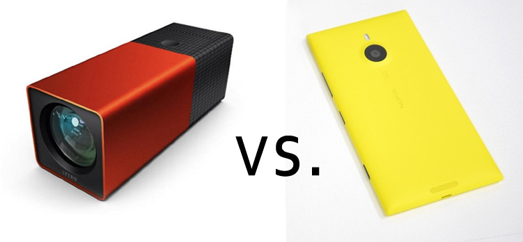 Refocus Comparison: Lytro vs. Nokia