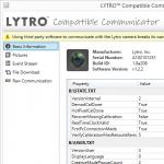 Lytro Compatible Communicator: Grundlegende Informationen (screenshot: Jan Kucera)