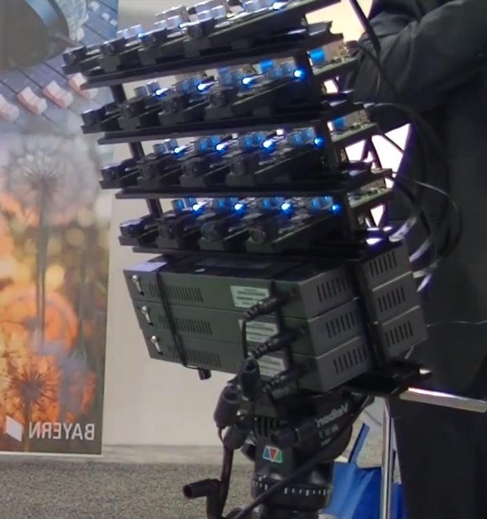 Fraunhofer IIS Demonstrates Light Field Array Camera at NAB 2014 (Screenshot)