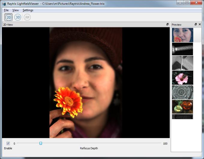 Raytrix veröffentlicht LightfieldViewer Software
