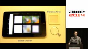 Nvidia Near-Eye Lichtfeld Display: LVT-Film-basierter Prototyp (Youtube-Screenshot)