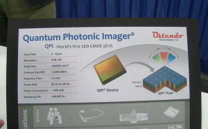 Ostendo Quantum Photonic Imager Chips (Youtube Screenshot via InsightMediaTV1)