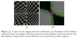 Geometrische Kalibrierung von MLA-basierten Lichtfeld-Kameras auf Basis von Linien-Charakteristika in RAW-Bildern (Bild: Bok et al. 2014)