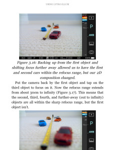 Ebook: Using Lytro Illum - A Guide to Creating Great Living Pictures (partial screenshot)