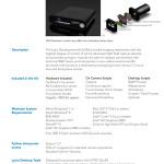 Lytro Development Kit - Spezifikationen (Lytro, 2014-11-11)