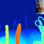 Detaillierte Tiefenkarte, berechnet aus einer LinX-Aufnahme (Bild: LinX)
