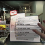 An Augmented Reality Gmail Inbox - Magic Leap: Promo Video Teases AR Headset (Youtube Screenshot)