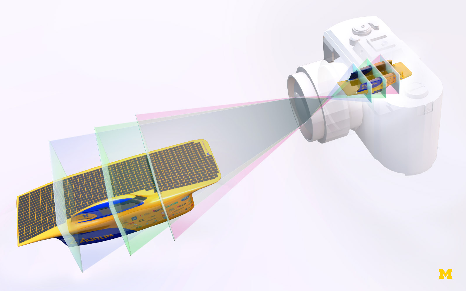 New Light Field Tech to use Transparent Sensor Layers instead of Microlenses (picture: Stephen Alvey/Michigan Engineering)