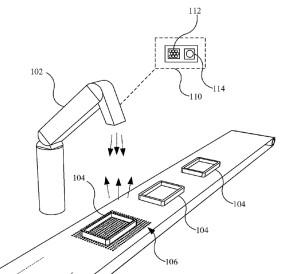 Neues Apple-Patent für Lichtfeld-Kamera ...in der Produktionskette (Bild: Apple)