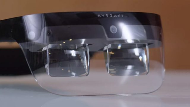 Avegant: New Light Field Display for better Augmented Reality Headsets (Mockup via RoadtoVR.com)
