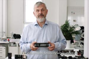 K-Lens: Lichtfeld-Objektiv mit Spiegelkonstruktion (inkl. Patent) (Foto: Youtube Screenshot)